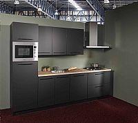 Overvoorraad Pure Black Rechte Keuken (131)