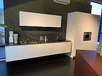 Italiaanse design keuken hoogglans + Gaggenau