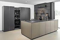 Luxe keuken met eiland - Zwart - Design