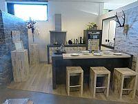 Steigerhouten keuken