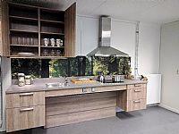 Rechte keuken hoog/laagsysteem