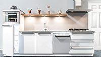 Kristal witte keuken recht / 34 (Z)