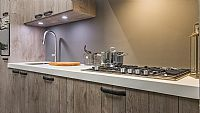 REchte keuken met Houtmotief en Borretti 12 (Z)
