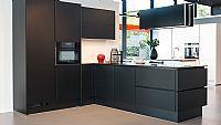 Grafiet zwarte supermat T keuken 10