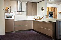 Moderne hoogglans keuken (Y103)