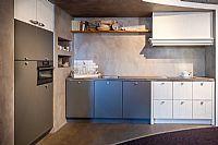 Grijs + Witte keuken ((Y12)
