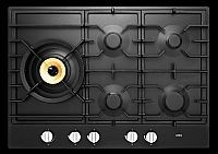 Gaskookplaat met Supervario-wokbrander en Easy Cl.