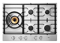 RVS gaskookplaat met wokbrander (75 cm breed)