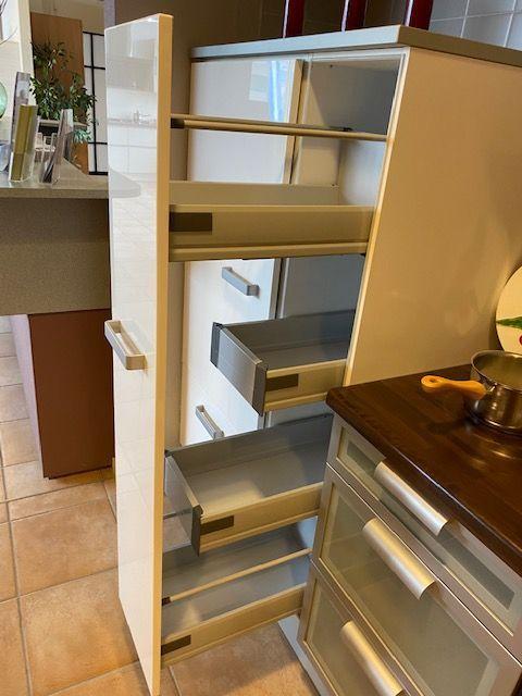 Witte keuken hoogglans