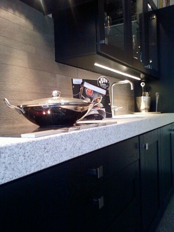 ... keukens voor zeer lage keuken prijzen  KELLER EIKEN ZWART [34816