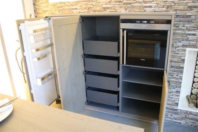 Vormige Ikea Keuken ~ Moderne kleine keuken met on u vormige