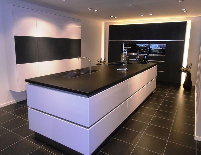 Keuken Wit Greeploos : Witte keuken Duitse keukens Eigenhuis Keukens