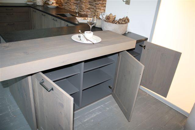Afmetingen Keuken Onderkasten : keukens voor zeer lage keuken prijzen Houten U – keuken 3.4 [51004