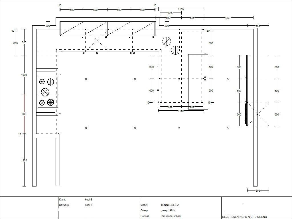 Keuken Afmetingen : keukens voor zeer lage keuken prijzen Houten U – keuken 3.4 [51004