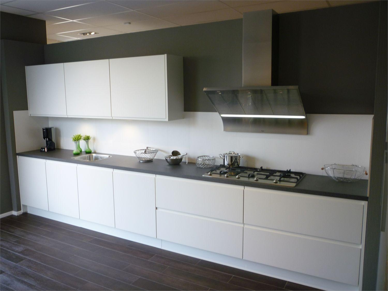 Idee greeploos keuken - Idee deco keuken wit ...