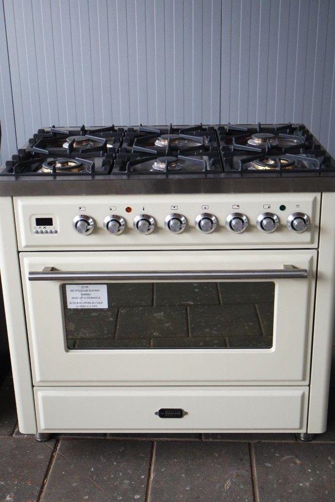 boretti twee ovens fornuis