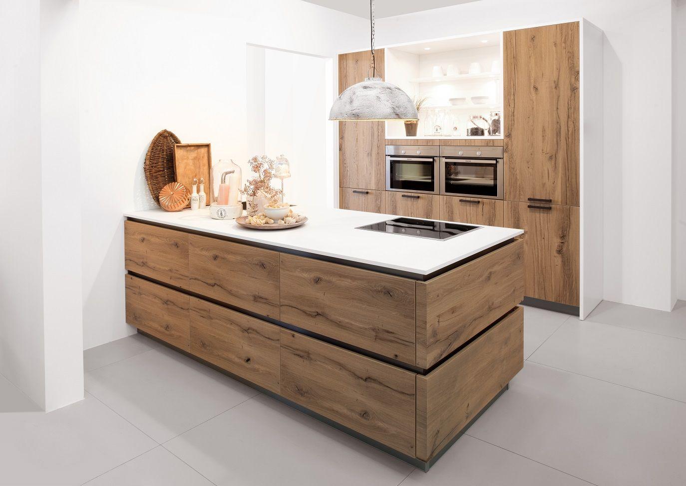 Keuken Schiereiland Met : Moderne witte keuken met schiereiland ok keukens